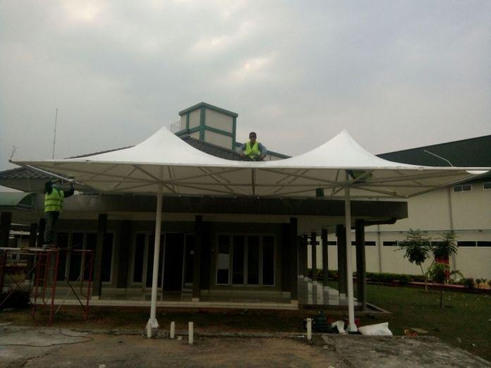 tenda membran jakarta tengerang structure balo bogor malang bandung bekasi surabaya tenda membrane